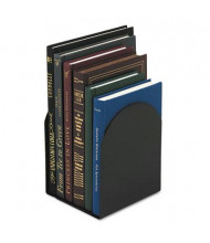 """Universal 7"""" H Magnetic Metal Bookends, Black"""