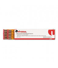 Universal One  #2 Yellow Woodcase Blackstonian Pencils, 12-Pack