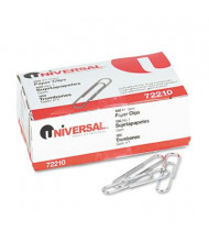 Universal No. 1 Smooth Finish Paper Clips, 1000-Paper Clips