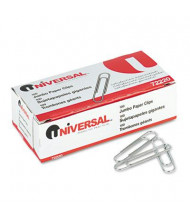 Universal Jumbo Wire Smooth Paper Clips, 1000-Paper Clips