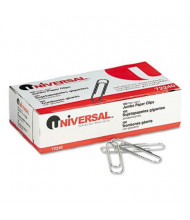 Universal Jumbo Wire Nonskid Finish Paper Clips, 1000-Paper Clips