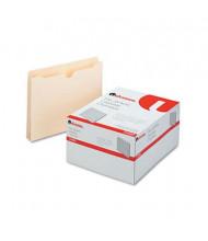 "Universal 1-1/2"" Expansion Letter File Jackets, Manila, 50/Box"