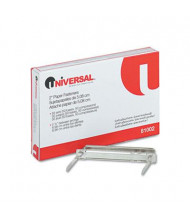"""Universal 2-3/4"""" Length 2"""" Capacity Complete Two-Piece Paper File Fasteners, 50/Box"""