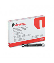 """Universal 2-3/4"""" Length 3-1/2"""" Capacity Compressors for File And Paper Fastener Prong Bases, 100/Box"""