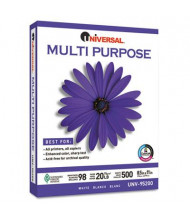 "Universal One 8-1/2"" x 11"", 20lb, 5000-Sheets, Multipurpose Paper"