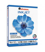 "Universal One 8-1/2"" X 11"", 24lb, 500-Sheets, Inkjet Paper"