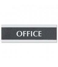 "Headline Century 9"" W x 3"" H Office Sign"