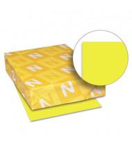 "Neenah Paper 8-1/2"" X 11"", 24lb, 500-Sheets, Lift-Off Lemon Colored Printer Paper"