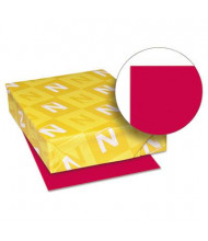 """Neenah Paper 8-1/2"""" X 11"""", 24lb, 500-Sheets, Re-Entry Red Colored Printer Paper"""