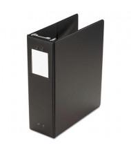"""Wilson Jones 3"""" Capacity 8-1/2"""" x 11"""" Non-View Hanging Post Binder, Black"""