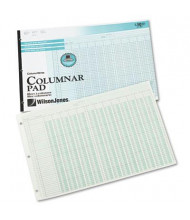 "Wilson Jones 11"" x 16-3/8"" 50-Page Side-Bound Accounting Pad, Thirteen 8-Column"