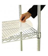 "Alera 48"" W x 18"" D 4-Pack Clear Plastic Shelf Liners"