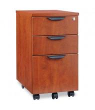 Alera Valencia Mobile Box/Box/File Pedestal File, Medium Cherry