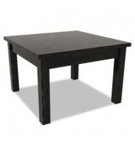 Alera Valencia Black Corner Occasional Table