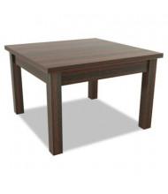 Alera Valencia Mahogany Corner Occasional Table