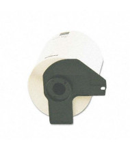 """Brother P-Touch DK1241 4"""" x 6"""" Shipping Label Roll, White, 200/Roll"""