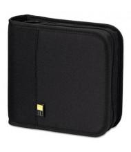 Case Logic 24-Capacity CD & DVD Expandable Binder, Black