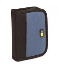 Case Logic 6-Capacity USB Drive Media Shuttle Case, Blue