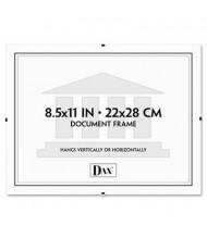 "DAX Document Clip Frame, 8.5"" W x 11"" H, Clear"
