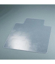 "deflect-o SuperMat Medium Pile Carpet 45"" W x 53"" L with Lip, Beveled Edge Chair Mat CM14233"