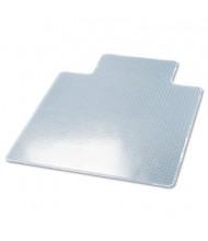 "deflect-o RollaMat Medium Pile Carpet 45"" W x 53"" L with Lip, Beveled Edge Chair Mat CM15233"