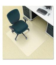 "Deflect-o EnvironMat Low Pile Carpet 36"" W x 48"" L, Straight Edge Chair Mat CM1K142"