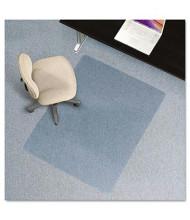 "ES Robbins EverLife Low Pile Carpet 46"" W x 60"" L, Straight Edge Chair Mat 120321"