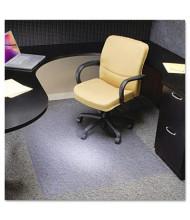 "ES Robbins EverLife Extra-High Pile Carpet 46"" W x 60"" L, Beveled Edge Chair Mat 124377"