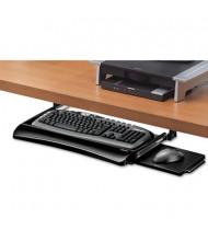 """Fellowes Office Suites 10"""" Track Under-Desk Keyboard Drawer, Black"""