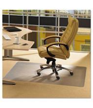 "Floortex Cleartex Advantagemat Carpet 48"" W x 36"" L, Beveled Edge Chair Mat PF119225EV"