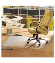 "Floortex ClearTex Advantagemat Hard Floor 48"" W x 36"" L, Beveled Edge Chair Mat PF129225EV"
