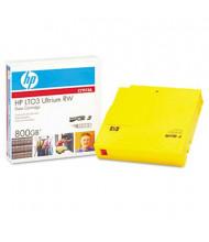 """HP C7973A Ultrium LTO-3 400/800GB 1/2"""" Data Tape Media Cartridge, 1/Pack"""