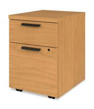 HON 105106CC 2-Drawer Box/File Mobile Pedestal, Harvest