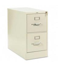 "HON 212PL 2-Drawer 28.5"" Deep Vertical File Cabinet, Letter Size, Putty"