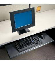 HON Slide-Away Laminate Keyboard Platform, Black