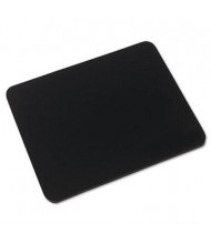 """Innovera 9"""" x 7-1/2"""" Natural Rubber Mouse Pad, Black"""