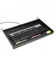 """Innovera 15"""" Track Standard Under-Desk Keyboard Drawer, Black"""