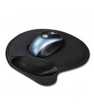 "Kensington 7-9/10"" x 10-9/10"" Extra-Cushioned Mouse Wrist Pillow Pad, Black"