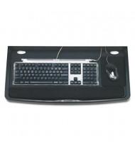 """Kensington 24-1/2"""" Track Comfort Keyboard Drawer with SmartFit, Black"""