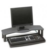 """Kensington 12"""" Track Comfort Desktop Keyboard Drawer with SmartFit, Black/Gray"""