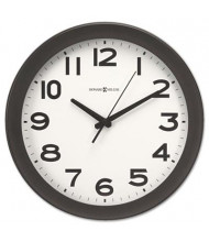 "Howard Miller 13.5"" Kenwick Wall Clock, Black"