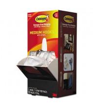 Command Medium Designer General Purpose Hooks, White, 50/Carton