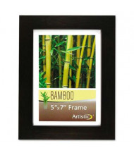 "NuDell 5"" W x 7"" H Bamboo Frame, Black"