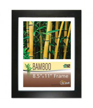 "NuDell 8.5"" W x 11"" H Bamboo Frame, Black"