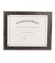 "NuDell 13"" W x 10.5"" H Award-A-Plaque, Black Marble"