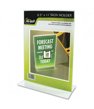 "NuDell 8.5"" W x 11"" H Stand-Up Sign Holder"