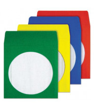 Quality Park 50-Pack Colored CD & DVD Sleeves