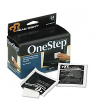 Read Right OneStep Screen Cleaner, 24/Box