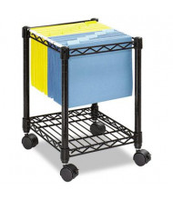 Safco Compact Mobile Wire File Cart