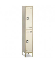 Safco 5523TN 2-Tiered High Lockers with Legs, Two Tone Tan